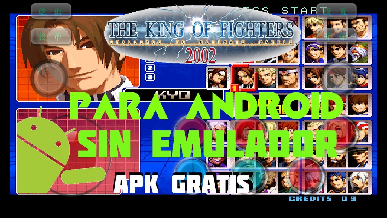The King Of Fighters 2002 Apk Free Download Twosoftis